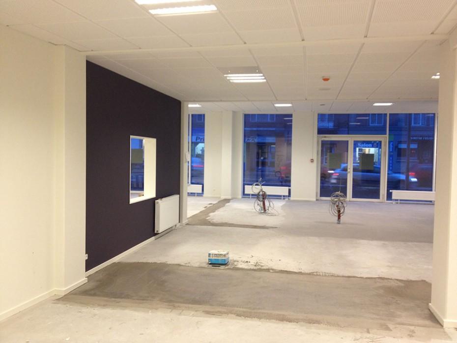Lillebælt Gruppen indretter / opfører BankNordik i Odense C.